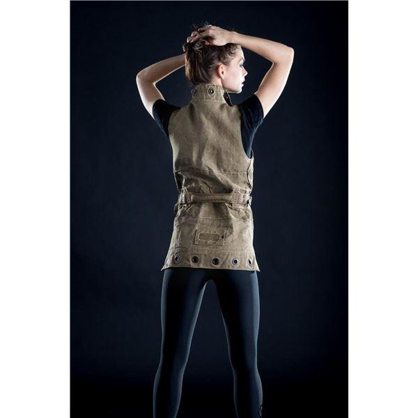 NOMADIC SHACK/VENOR: Fashion Vest Repurposed from WWII Italian Parachute Bag