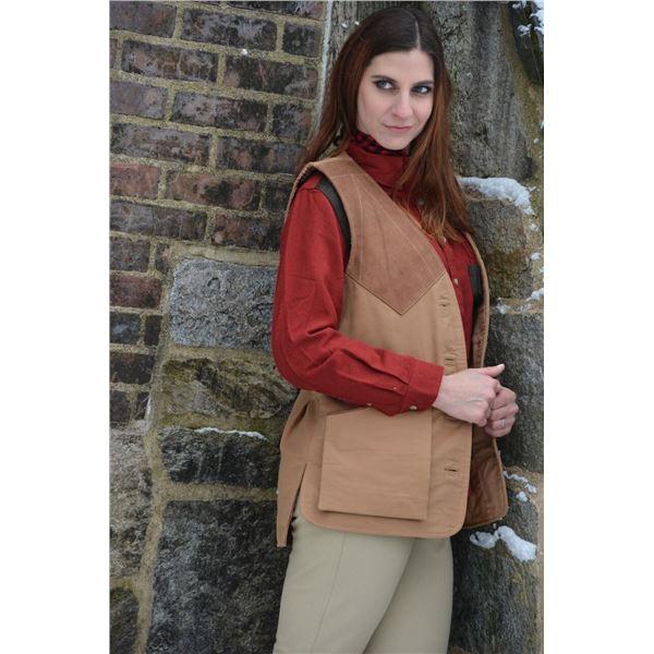 BRAEVAL: $250 CERTIFICATE for Ladies Braeval Artemis Camel Vest