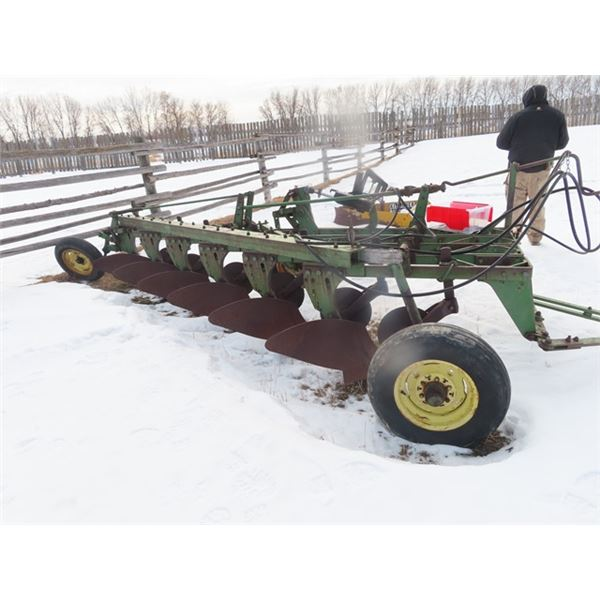 JD 6B Plow w Coulters