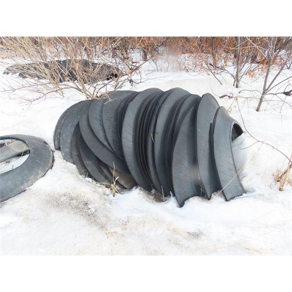 100 Tire Sidewalls for Sillage Tarp Weights