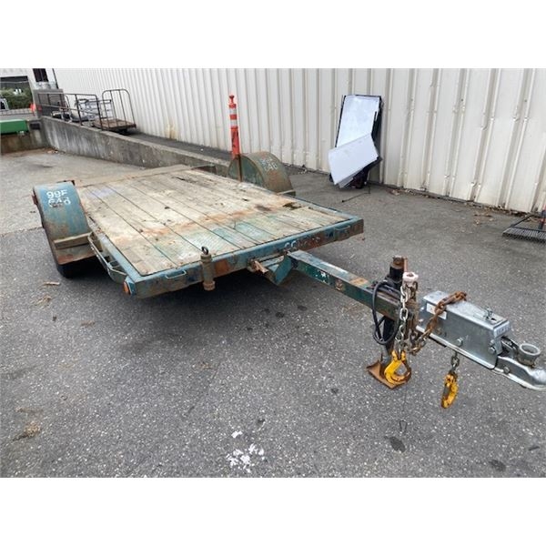 1999 TRAILTECH L135 TRAILER, GREEN, VIN # 2CU1FBA6XX2005314