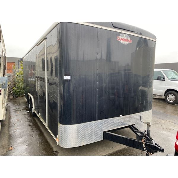 2017 CARGOMATE ENCLOSED TRAILER APPROX 8'X20' VIN 5NHUBLV22HB463634