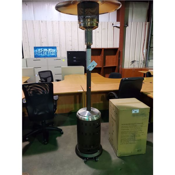 PARAMOUNT L10-SS-BR P MOCHA / STAINLESS STEEL PROPANE OUTDOOR PATIO HEATER