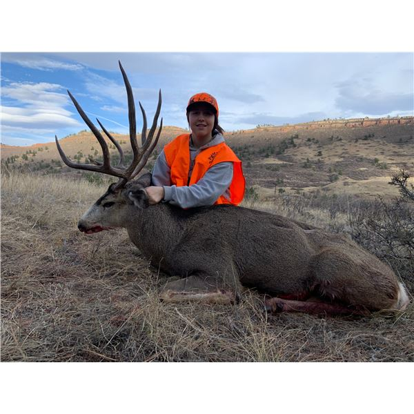 Fully Guided 5 day Colorado Mule Deer Hunt 2022