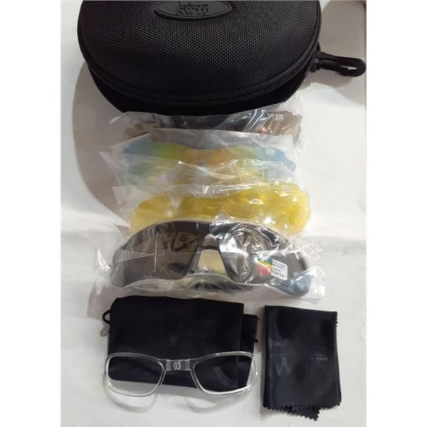 Shooter Glasses Kit w/ Interchangeable Lenses