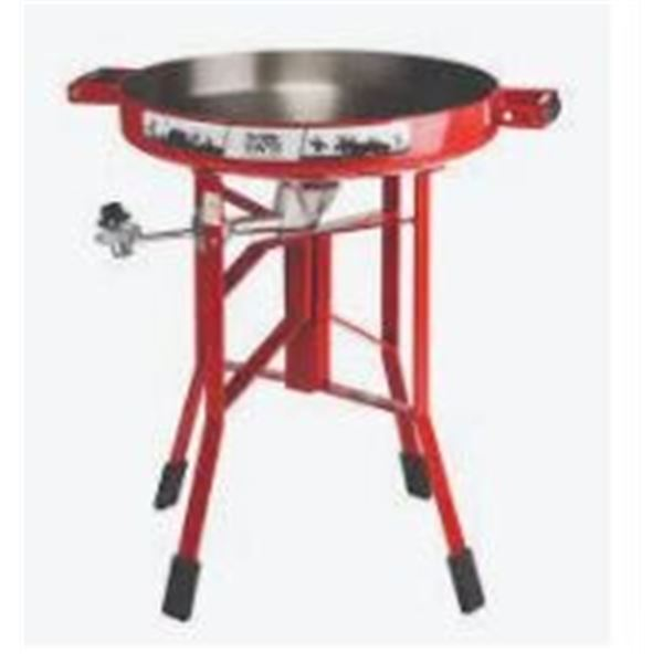 Firedisc Cooker 24 Portable G as Red wNWTF Logo