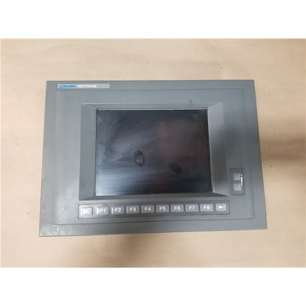 OKUMA OSP700B (1911-2631-34-099 VER 1.0) STN OPERATOR PANEL & DISPLAY