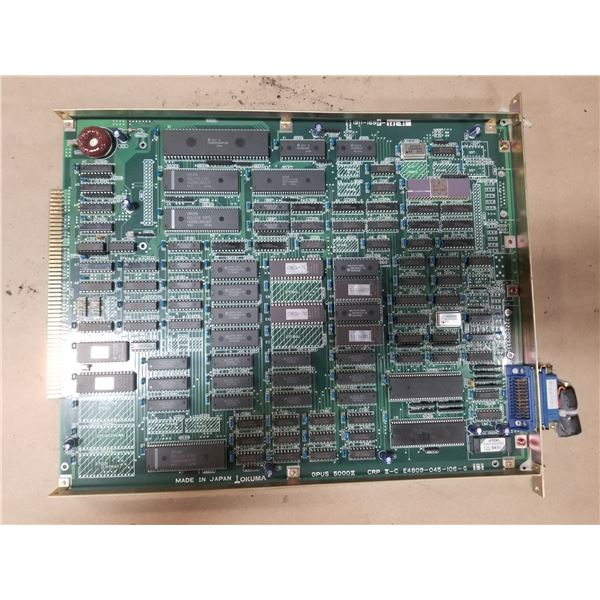 OKUMA E4809-045-106-G (1911-1692-141-21) OPUS 5000II/CRP II-C CIRCUIT BOARD