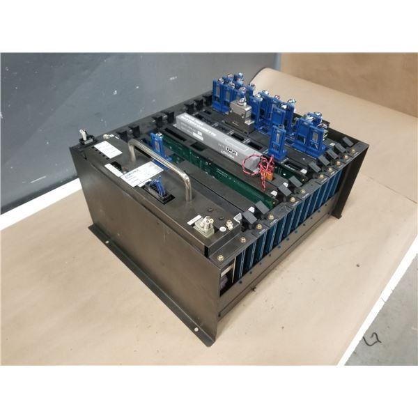 OKUMA E7191-855-019-2 OPUS 7000 CPU/IF /RACK 12 (INCLUDES MODULE CARDS) *SEE PICS FOR DETAILS*
