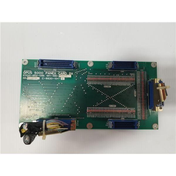 OKUMA E0241-653-095 OPUS 5000 PANEX CARD A