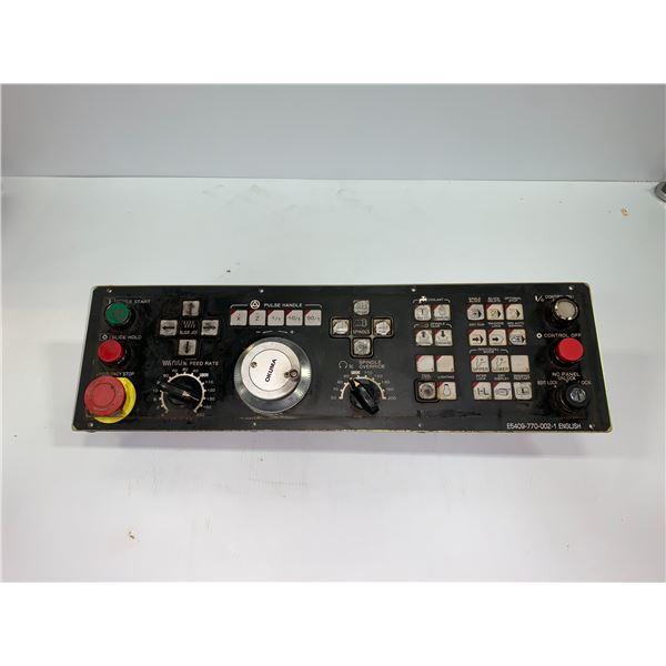 OKUMA E5409-770-002-1 ENGLISH OSP MACHINE PANEL
