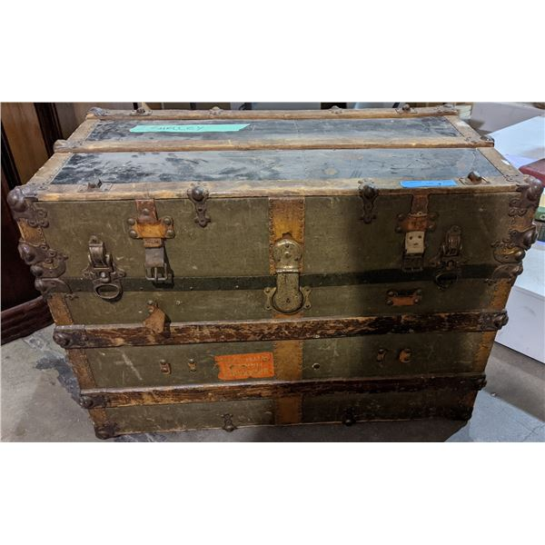 "Steamer trunk from the chilling adventures (37"" W, 24"" H, 21"" D)"