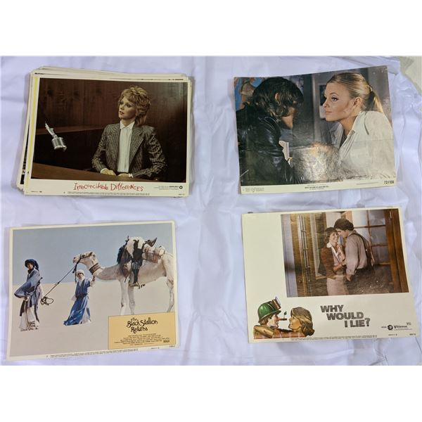 Vintage lobby cards from 1960's and 70s (highly collectible)
