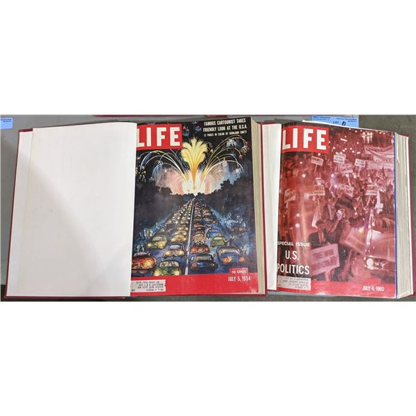 Collection of Life Magazines (1950s and 1960s) from the Chilling Adventures