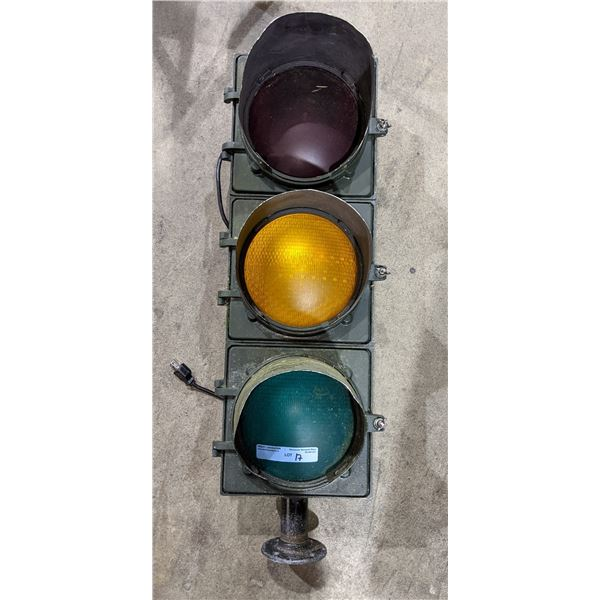 Aged traffic light used in Si-Fi  TV series