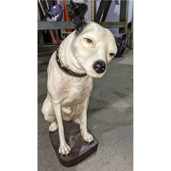 "RCA Dog Reproduction - 15"" tall"