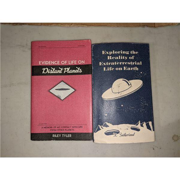 Assorted UFO books