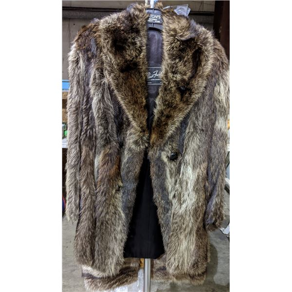 Fur coat from Project Blue Book