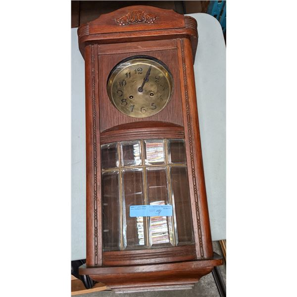 """Vintage clock from chilling adventures - 30"""" H x 14"""" W"""