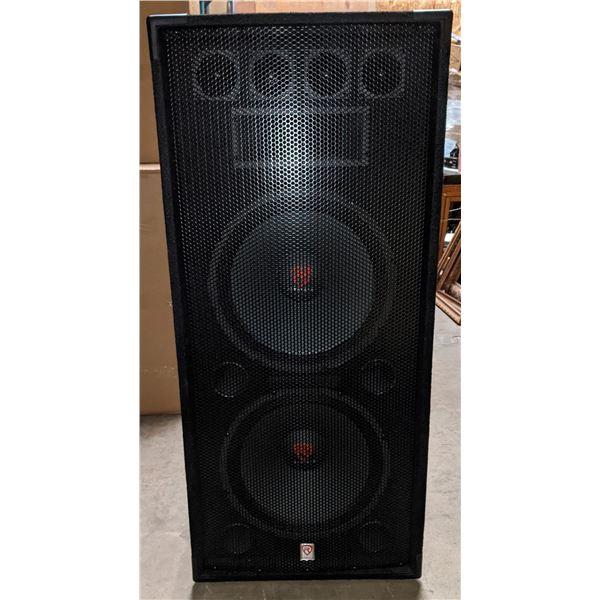 "RockvillE RSG 8-Ohm 15.28 speaker 3 months old - 46"" H x 20"" W x 14"" D"