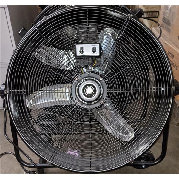 """Maximum electric fan - 27"""" diameter"""