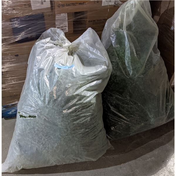 Two bags of greenery