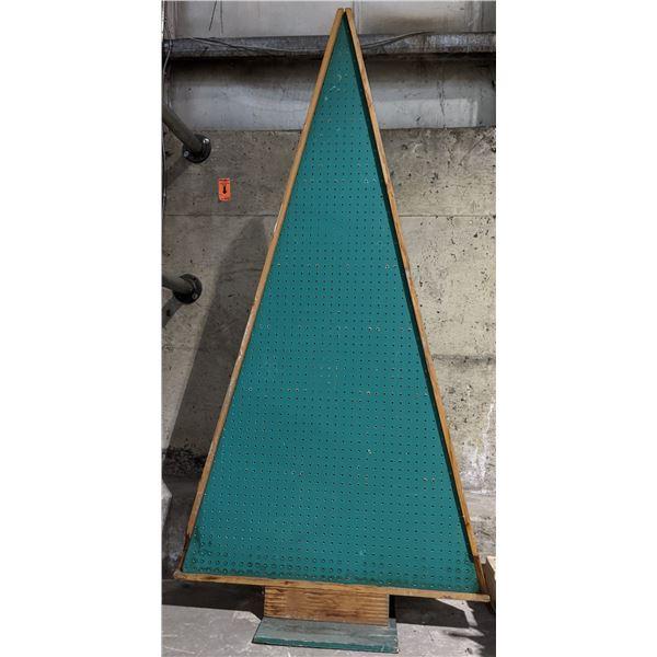 Display racks shape as Christmas trees
