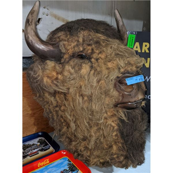 """Buffalo head used in The Show Supernatural - 32"""" H"""
