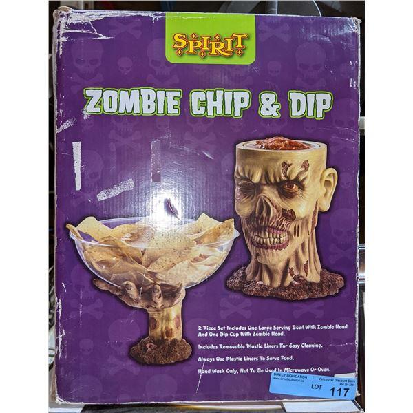 2 Halloween Dip jars