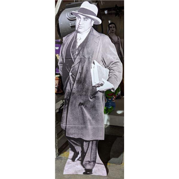 Full size al Capone cut out statue