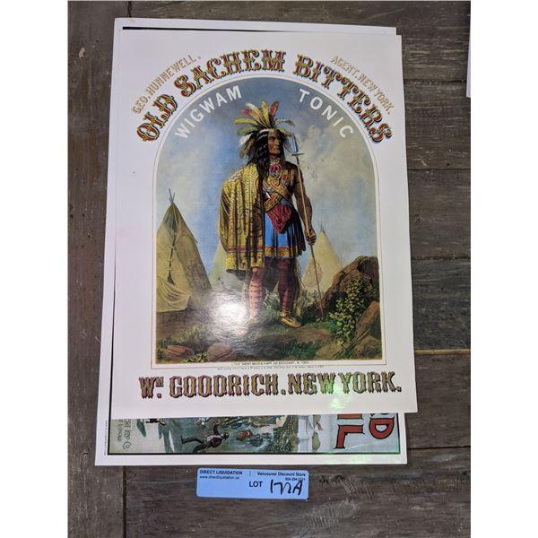 Turn of a century area Quack medicine posters (2)