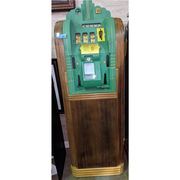 Late 30s Mills Page Boys console slot machines (Highly collectible art deco design) -complete set 25
