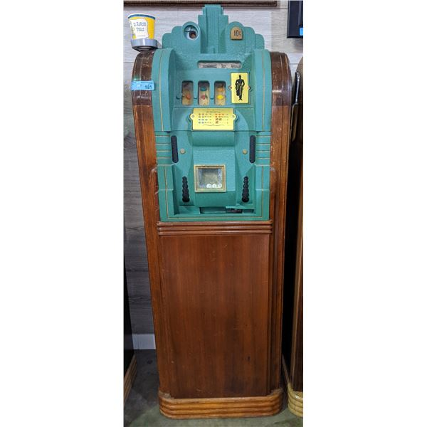 Late 30s Mills Page Boy console slot machines (Highly collectible art deco design)