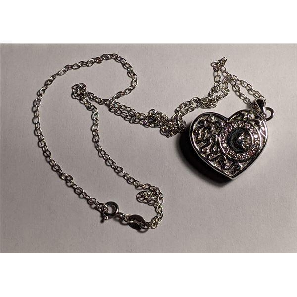 STULLER Silver Heart Pendant (value $245.95)
