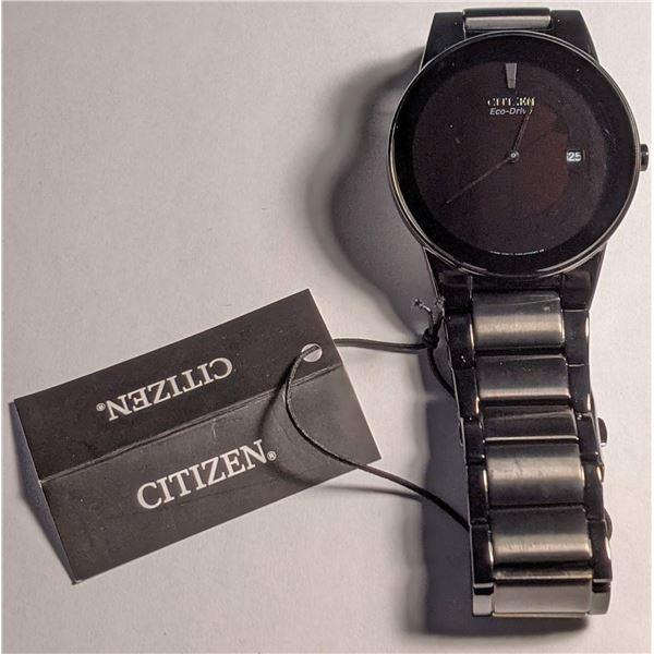 Citizen Black Watch Stainless Steel AU1065-58E (value $325)
