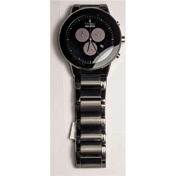 Citizen Black Watch Stainless Steel AT2245-57E (value $425)
