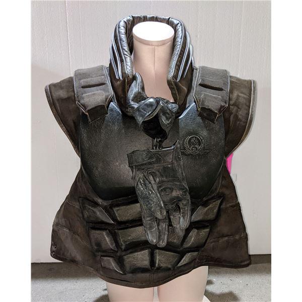 Ironhead hero costume from the sci-fi show