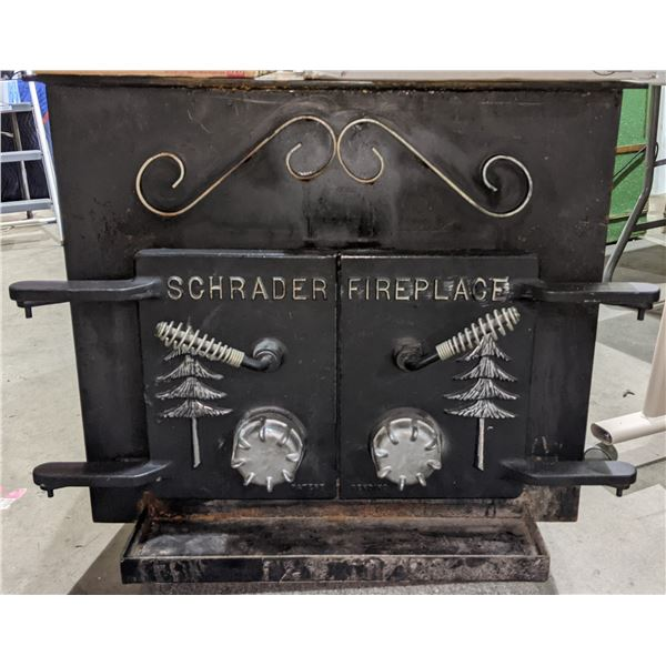 Wood stove from the last auction