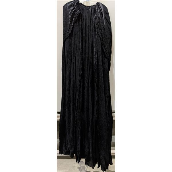 A black hooded cape from the Sci-fi show