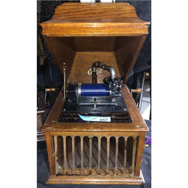 Edison Amberola windup Phonograph