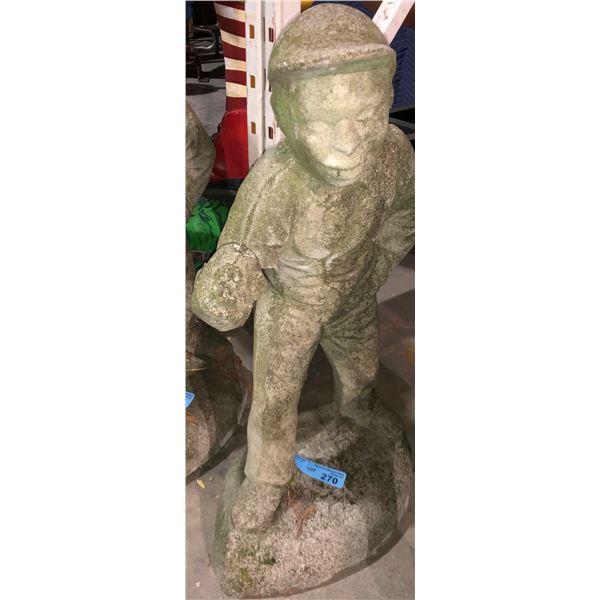 """Garden statue - 26"""" H"""