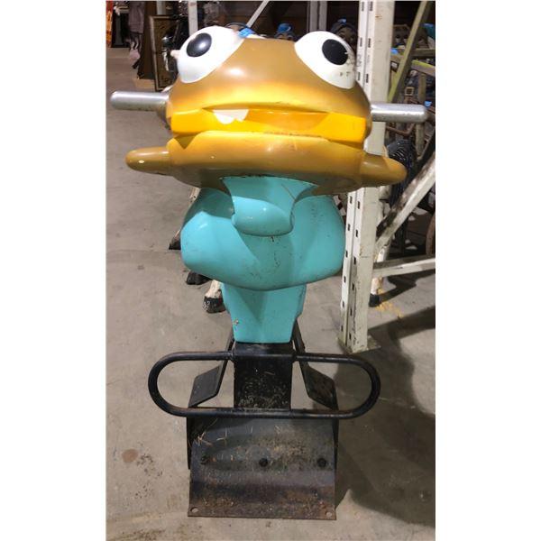 McDonaldland Filet-O-Fish playground rocker Mcdonalds 34  H