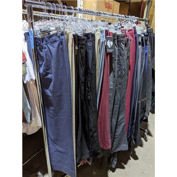 Rack of sci-fi pants approx 30 pieces