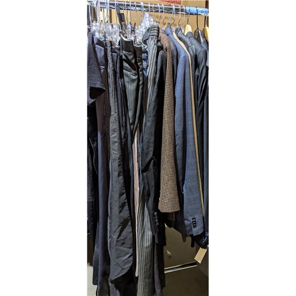 Suit, jackets and pants approx. 20 pieces