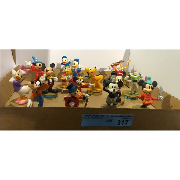 Set of McDonald's Disney characters approx. 15 pieces
