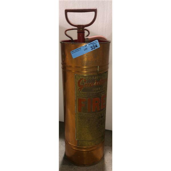 "Fire extinguisher antique - 25"" H"