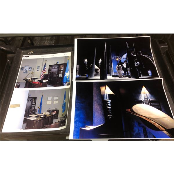 Brigadier General Jack O'Neill's office archive photographs from Stargate show