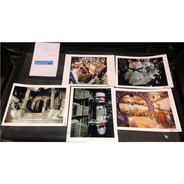 Stargate archive photographs from season 5