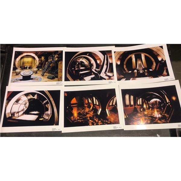 Stargate archive photographs from season 3