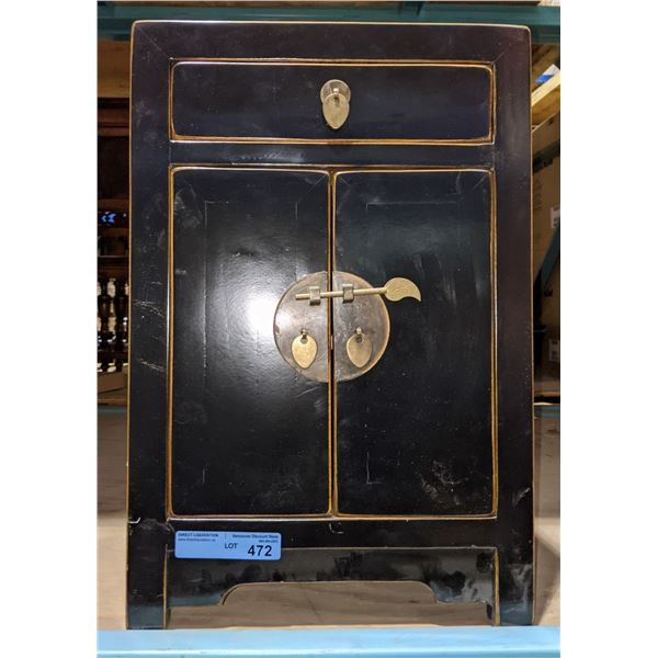 """Oriental Small Cabinet from Chilling Adventures Season 4 - 24"""" H x 16"""" W x 12"""" D"""